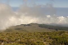 Travel to Summit (rschnaible) Tags: park usa mountains clouds landscape hawaii us tour pacific outdoor sightseeing maui tourist national haleakala tropical tropics