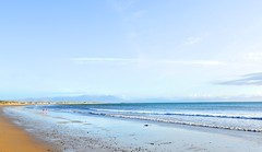 Clear Skies in Ballyheigue... (Gemma_Marie_) Tags: ocean blue ireland sea sky mountain seascape beach home strand skyscape bay sand waves outdoor brandon kerry atlantic clear shore mnt ballyheigue