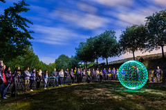 Making orb (Victor Francs) Tags: lightpainting canon orb tokina esfera mol 60d banyeresdemariola 1116mm lombria lallumdelanit