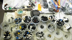 Modifieds Rough Sort (DJ Quest) Tags: mixed lego sub part type modified rough sort tote sorting