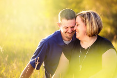 :: spring love :: (mjcollins photography) Tags: light people love engagement spring couple warm engage