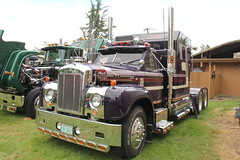 ATHS National 2016 (510) (RyanP77) Tags: aths national salem oregon log truck logger mack kenworth peterbilt frieghtliner internationaltruck semi pete rig diamon t 359 379 b model coe cabover trucking trucker rigs chrome show classy autocar bubblenose whitlog antique historical association