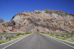 lake mead national recreation area, nevada (twurdemann) Tags: road sky southwest landscape highway unitedstates desert nevada lakemead drought nationalrecreationarea northshoreroad muddymountains mojavedessert xf1855 fujixt1