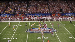 2012 BCS Championship (media dugout) Tags: football neworleans lsu superdome sugarbowl ncaafootball alabamacrimsontide 2012bcschampionship