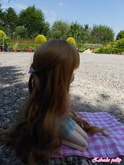 Salom (Pullip Kiyomi) (ZebadaPullip) Tags: flower cute fleur ginger doll sweet curls collection planning wig passion groove pullip kiyomi jun rousse salom junplanning pullipstyle zebada