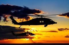 D-se ao luxo de perceber a beleza que h a sua volta. (Johnson Barros) Tags: sunset sun art sunshine sunrise arte artistic blackhawk airborn voo airtoair arar foraareabrasileira brazilianairforce