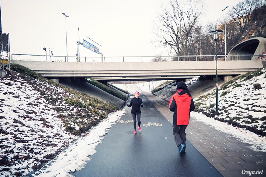 2016.06.23 ▐ 看我歐行腿 ▐ 謝謝沒有放棄的自己,讓我用跑步遇見斯德哥爾摩的城市森林秘境 05