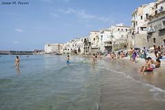 SPIAGGIA A CEFAL (Sicilia, agosto di 2014) (perfectdayjosep) Tags: cefal sicily siclia perfectdayjosep sicilia spiaggiadicefal platjaacefal platjaasiclia spiaggia platja playa beach praia