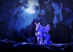 Princess of the Night (pianocats16, miau...) Tags: moon night princess luna full pony fantasy imagination mlp