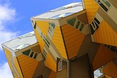 Cube Houses (hhschueller) Tags: rotterdam eosm10 netherlands nederland southholland オランダ