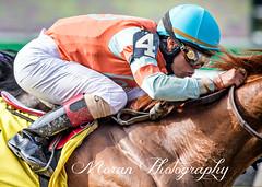 Irad Ortiz (EASY GOER) Tags: park horse sports canon track belmont racing 5d races equine thoroughbreds belmontpark markiii 5dmarkiii