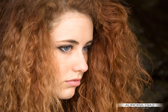 Isabel Gamboa (Aurora Daz ) Tags: red portrait chica retrato bella guapa pelirroja betanzos blueeys