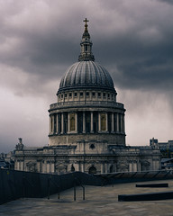 Dramatic (cristianogelato) Tags: london photoshop stpaul edit lightroom cathdral