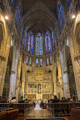Interior Catedral de Len (Basilio Ayerza) Tags: wedding espaa spain cathedral gothic boda catedral len vidriera gtica gtico