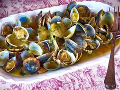 Almejas a la marinera (juantiagues) Tags: marín almejas marinera jubilados xuntanza elcamarote