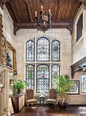 New York Gramercy Park North (techpro12) Tags: manhattan apartment historic room oldworld interior vintage stainedglass fireplace mantle mantel picture window unionsquare newyork