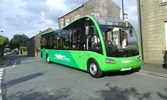 Transdev Keighley YJ16 DVG (153) 24-6-16 (158756Media) Tags: bus day first company solo sr 153 keighley optare blazefield transdev yj16dvg
