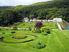 Walled gardens, Kylemore Abbey (midvale2) Tags: ireland kylemore