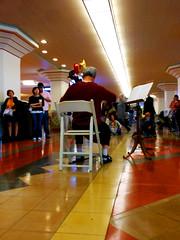 Bach In The Subway (~db~) Tags: california travel urban musician music usa art station america la losangeles downtown unitedstates metro union performance trains historic bach socal trainstation cello solo transportation transit classical downtownla unionstation metrolink classicalmusic dtla metrorail bachinthesubways s6100100dscn9369