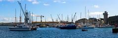 View towards Falmouth Docks_Panorama1 (chris.willis3) Tags: panorama water docks boats cornwall falmouth stitched nikond5200 chriswillis3