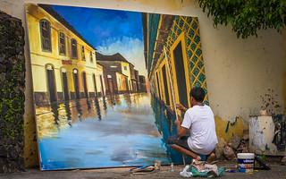 Artist (his studio is the street)