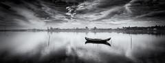Don't stop the rain (paulosilva3) Tags: bw portugal canon de landscape lee filters ria aveiro waterscape 6d polariser riverscape murtosa platinumpeaceaward