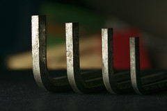 Quadruple Hex! (Light Collector) Tags: macro metal closeup hex tool metalic macromonday takesomethingordinary hexwrenchset