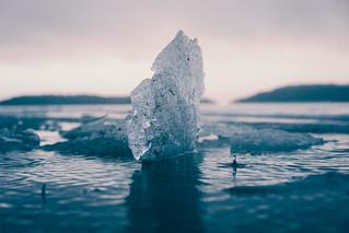 Ice berg.
