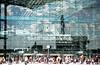 Berlin Central Station (scuthography) Tags: building berlin ice glass photo ngc db deutschebahn mainstation berlinhauptbahnhof flickrglobal kathrinschild