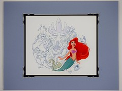 A Little Mermaid's Tale Deluxe Print - By Whitney Pollett - Disneyland Purchase - 2015-03-21 - Full Front View (drj1828) Tags: ariel print us artwork disneyland deluxe thelittlemermaid worldofdisney 2015