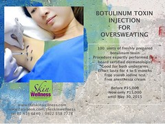 botox hyperhidrosis (theskinwellness) Tags: philippines best manila injection rates botox toxin hyperhidrosis botulinum oversweating