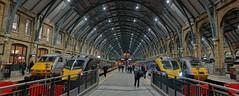 Kings cross station (Westhamwolf) Tags: london station train cross kings
