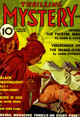 Thrilling Mystery - 1936-03 - Thrilling Publications - Cvr by Rudolph Belarski (kocojim) Tags: fiction art illustration magazine cover pulp kocojim popularfiction rudolphbelarski