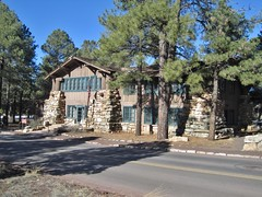 Grand Canyon Park Operations Building (Teemu008) Tags: 1920s arizona grandcanyonnationalpark coconinocounty npsrustic