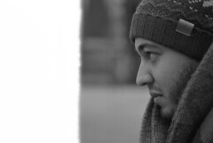 [ Erwan ] (Jérémie Le Guen) Tags: portrait blackandwhite white man black france face look 35mm french 50mm blackwhite lowlight fuji minolta noiretblanc bokeh iso400 bordeaux portraiture fujifilm neopan fullframe manualfocus argentique regard noirblanc filmphotography noirteblanc fixedfocallength bokehlicious firstframeoftheroll bokehoftheday leziwok jérémieleguen