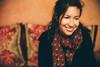 Petals in the riad (Sator Arepo) Tags: leica portrait smiling 50mm rangefinder f1 morocco fez noctilux foulard cushion fes riad m9