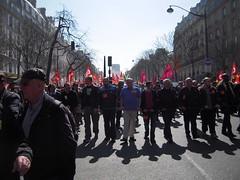 TETE DE MANIF (marsupilami92) Tags: paris france frankreich ledefrance capitale 75 manifestation cgt cortege syndicat solidaires 13emearrondissement