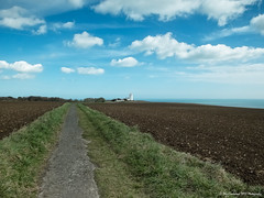 South Foreland skies (Dave Lockwood DA12) Tags: england lighthouse clouds kent skies south fujifilm southeast dover x20 onone lightroom foreland eastkent landscapes1 southforelandlighthouse perfecteffects8