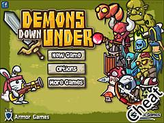 兔子英雄闖地城:修改版(Demons Down Under Cheat)