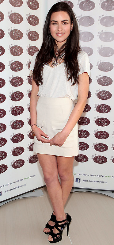 Yasmin h pictured at the opening of elle no 5 hair nail for Yasmin beauty salon