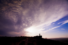 The Lovers..... (Mark Winterbourne | markwinterbourne.com) Tags: silhouette lovers moor otleychevin markwinterbourne