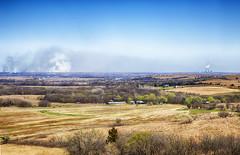 The Burning (Kansas Poetry (Patrick)) Tags: burning kansas flinthills wamego wamegoks patrickemerson patricklovesnancy