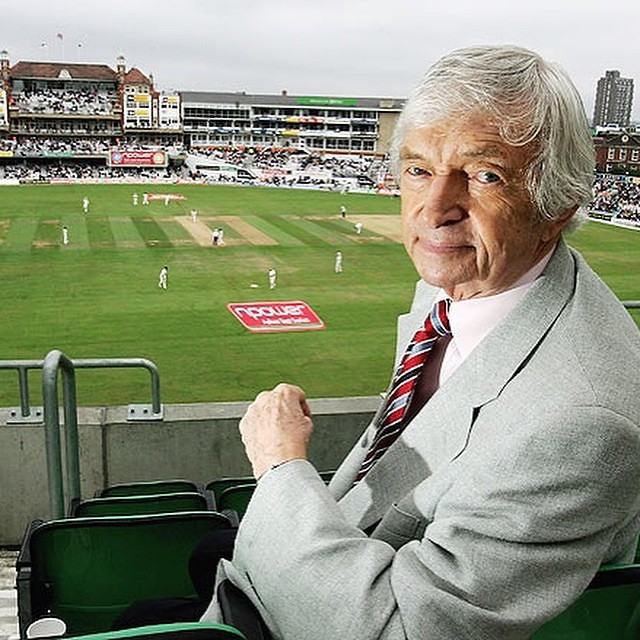 Cricket commentator RICHIE BENAUD died today. Great cricketer and the best commentator ever we had.There will never be another RICHIE BENAUD. He was a one-off.