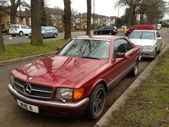 1989 Mercedes 420/560SEC abandoned & neglected (mangopulp2008) Tags: abandoned mercedes neglected 1989 560sec 420sec