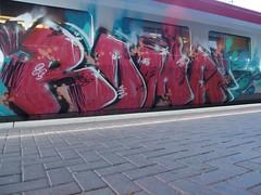 ROMA (mkorsakov) Tags: red roma rot train graffiti zug colored lust hbf dortmund bunt thalys