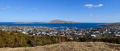 Trshavn 1 (Xevi V) Tags: panorama landscape town view faroeislands faroe paisatge kolor autopano airelliure trshavn nlsoy streymoy tumblr kolorautopano picsandshots froe illesfroe