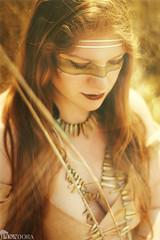 Feuertanz (Tidesimi) Tags: portrait canon 50mm outdoor availablelight boho redhair goldenlight hallesaale pixadora pixadorafotografie ladyaurelia