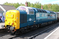 DELTIC 55007 PINZA (P.J.S. PHOTOGRAPHY) Tags: station class pinza grosmont nymr 55007