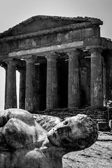 As time stood still.. Temple of Concordia (Anushka Fernando) Tags: travel italy history abandoned greek temple photography ancient nikon ruins europe roman explore historical sicily sculptures agrigento sculpting greektemple templi explored d3200