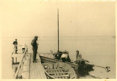 The pier on Steinhudermeer (mgjefferies) Tags: germany army sailing recreation britisharmy 1945 boar steinhudermeer fwjefferies